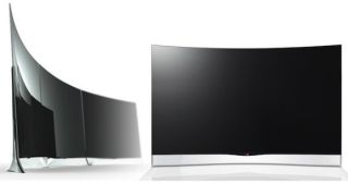 LG to launch world's first 55-inch curved OLED