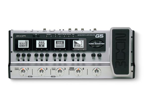 namm 2012 zoom announces g5 effects amps pedal board musicradar. Black Bedroom Furniture Sets. Home Design Ideas