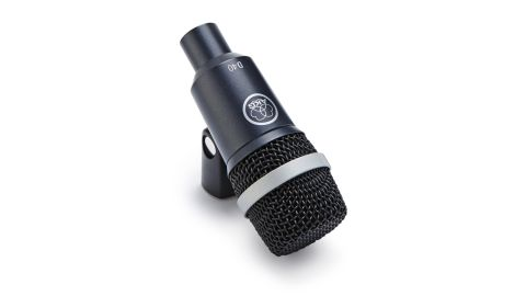 The robust D40 has a protective metal casing and grille and has a frequency range of 50Hz-29kHz