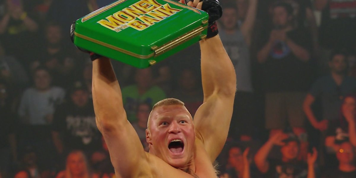 Brock Lesnar at Money in the Bank 2019