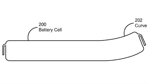 Apple curved battery patent filing could be used for future iOS devices