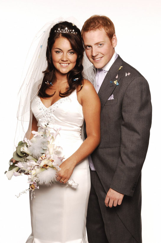 It's Stacey and Bradley's big day
