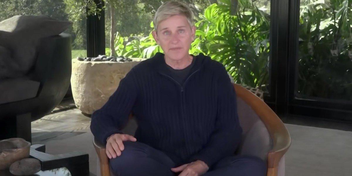 Ellen DeGeneres on The Ellen DeGeneres Show