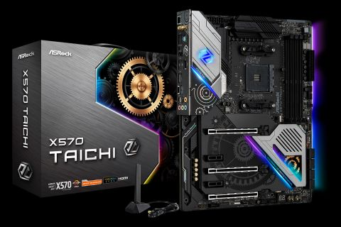 Asrock X570 Taichi Review Jumping Into Pcie 4 0 With Ryzen 3000 Tom S Hardware Tom S Hardware