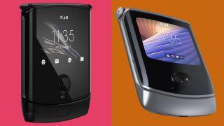 Motorola Razr 2019 vs Motorola Razr 2020