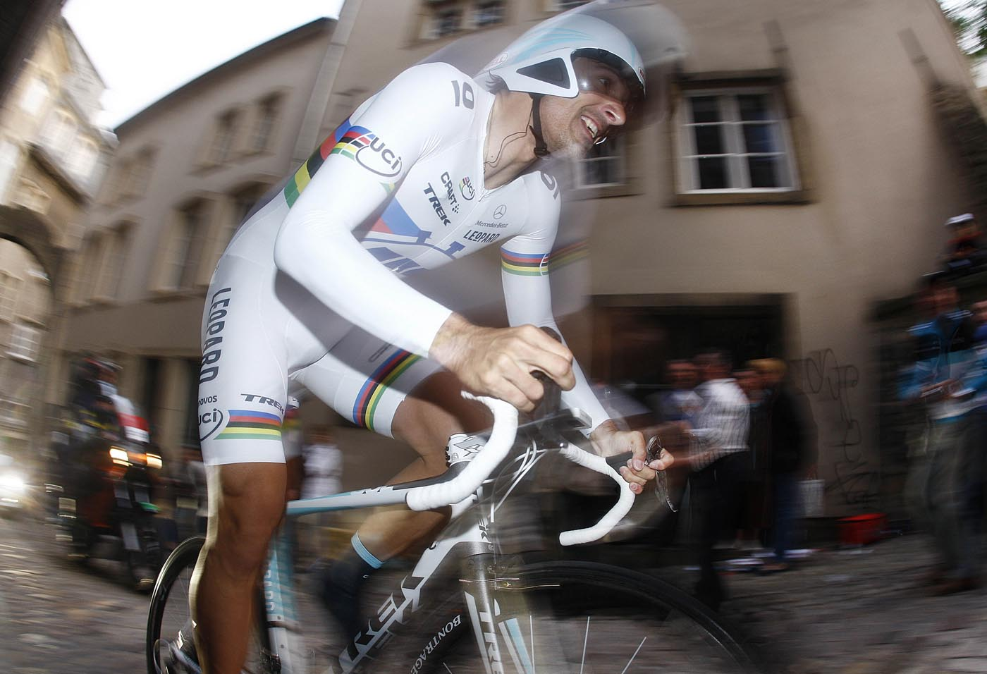 Fabian Cancellara wins Tour of Luxembourg 2011, prologue