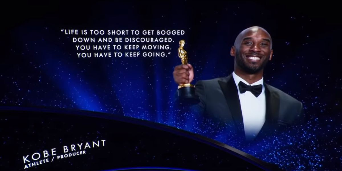 Kobe Bryant Oscars Tribute