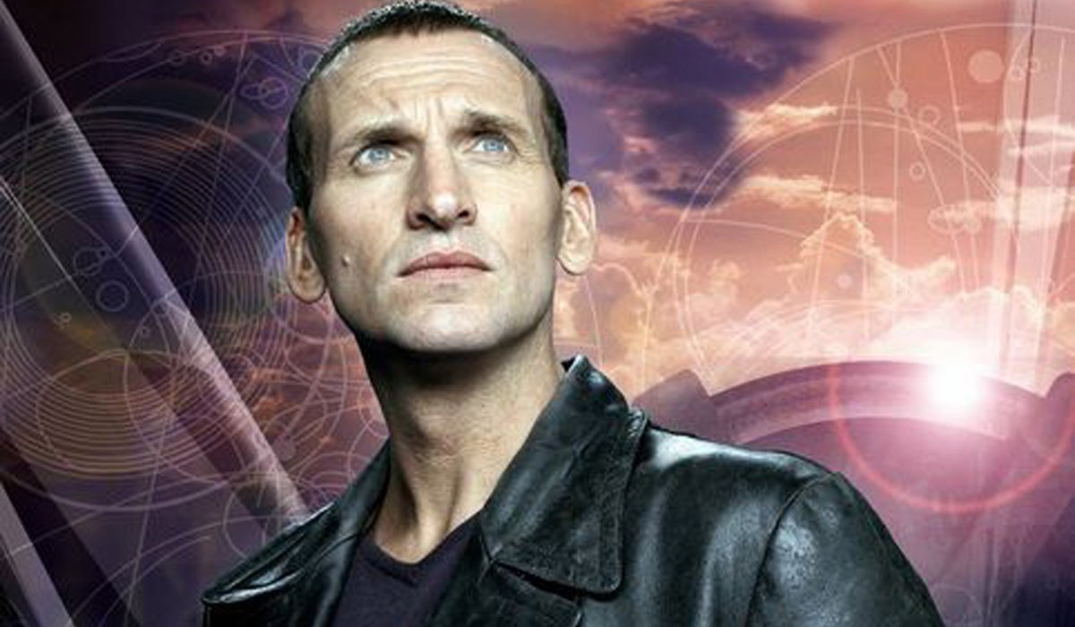Doctor Who The Ninth Doctor looks into the distance