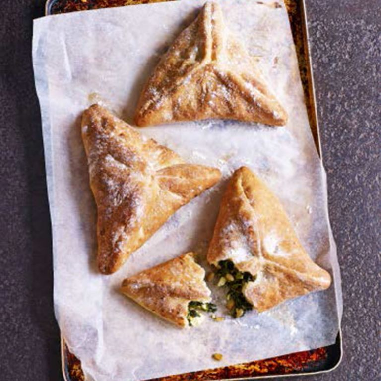 Paul Hollywood Spinach Parcels photo