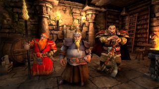 Three dwarves