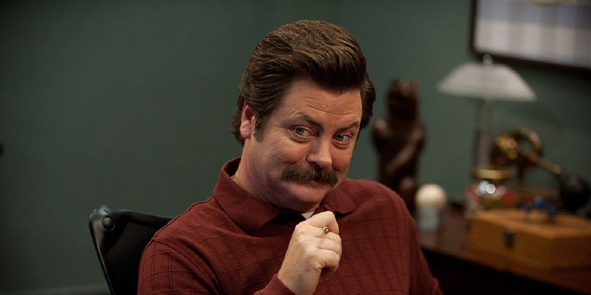parks and recreation reunion special ron swanson