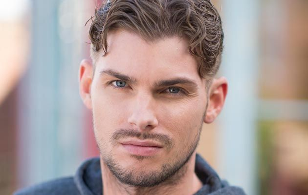 Kieron Richardson plays Ste Hay in Hollyoaks