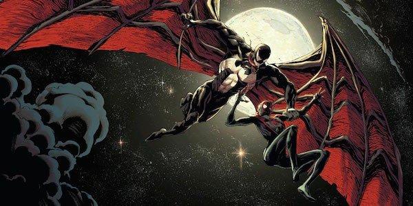 Venom Marvel Comics Wings