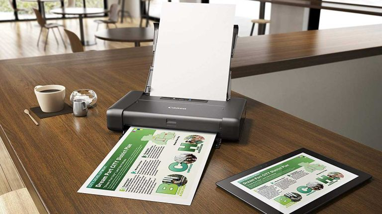 Best small printer: Canon PIXMA iP110 Portable Printer with Battery