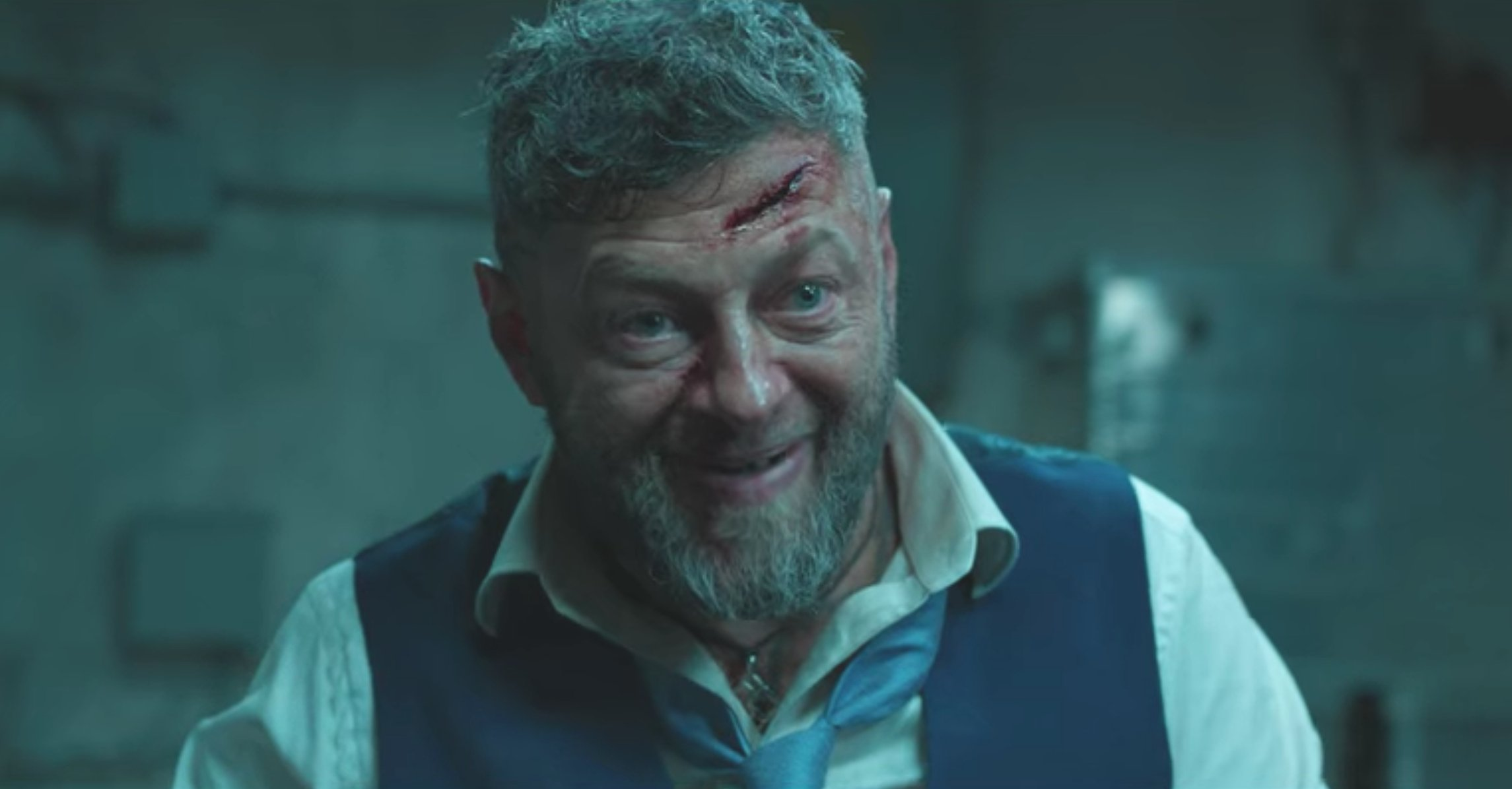 Andy Serkis stealing another scene