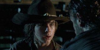 Carl before the big gunfight