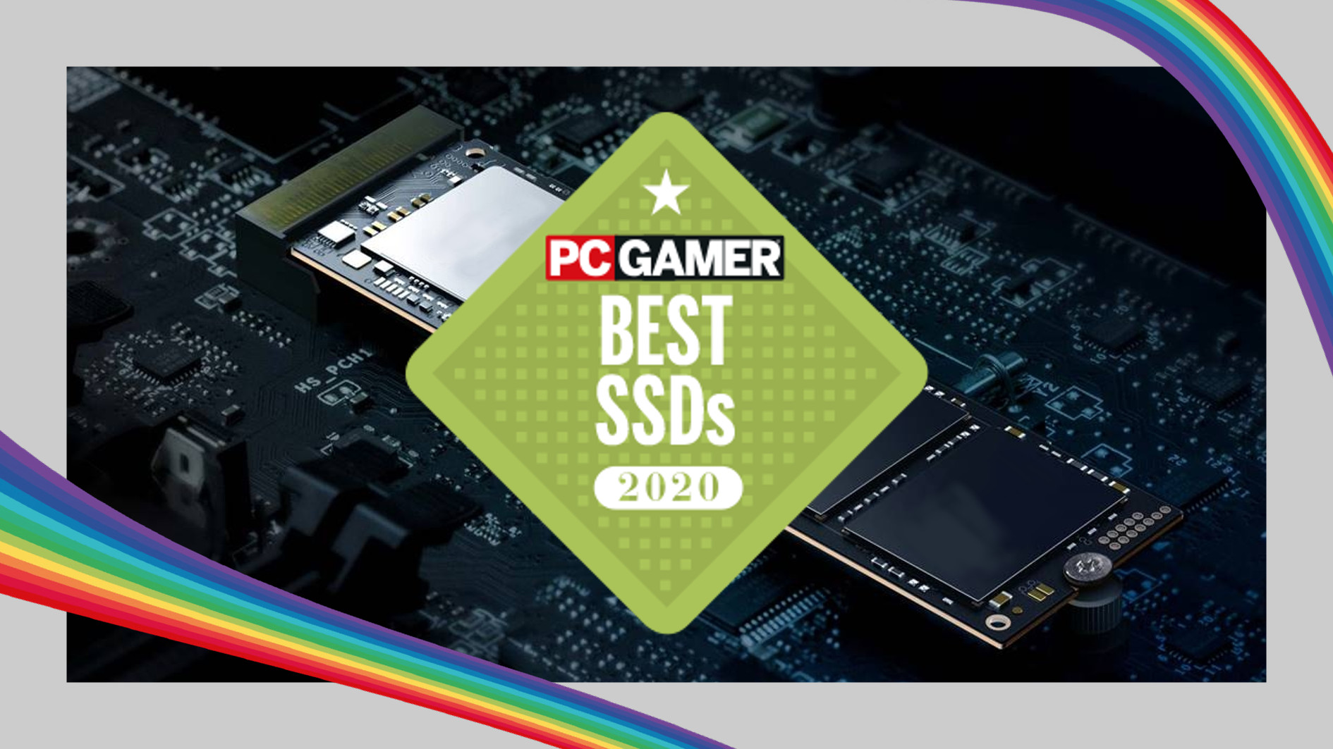 PC Gamer Hardware Awards: What is the best SSD of 2020?