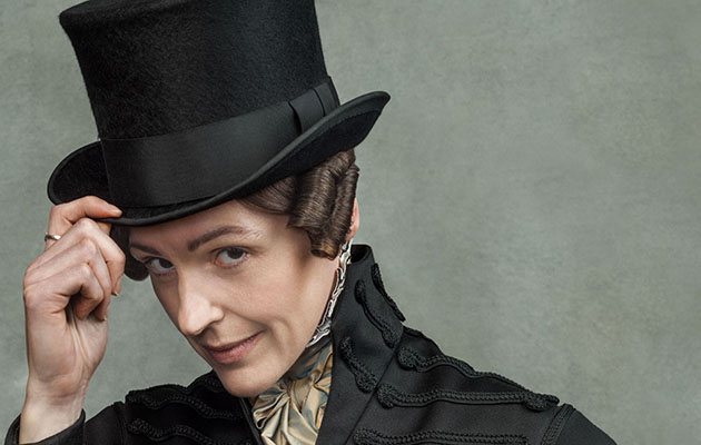 Suranne Jones as Anne Lister in Gentleman Jack