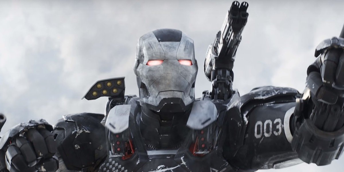 Don Cheadle as War Machine in Captain America: Civil War (2016)