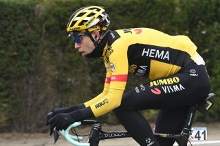 Wout van Aert (Jumbo-Visma) rode to second place at the rescheduled Tour of Flanders in October – the Belgian's last race of the 2020 road season