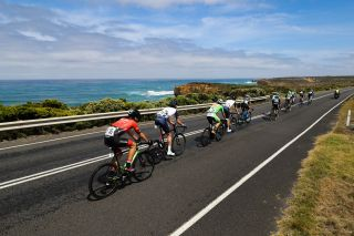 Riders in action at the 2019 Melbourne to Warrnambool