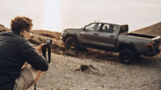 Sam Werkmeister shares GoPro tips shooting Toyota Hilux