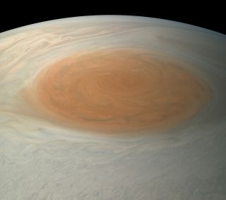 Juno View of Jupiter's Great Red Spot