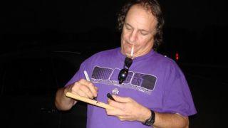 A picture of former Y&T drummer Leonard Haze