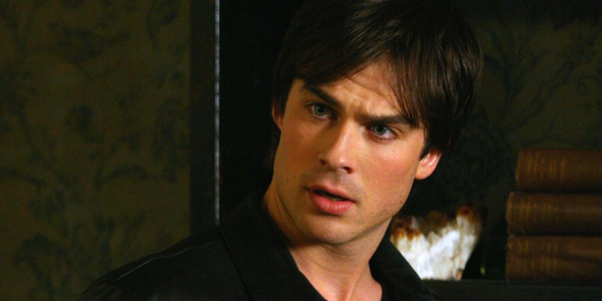 The Vampire Diaries Ian Somerhalder Damon Salvatore The CW