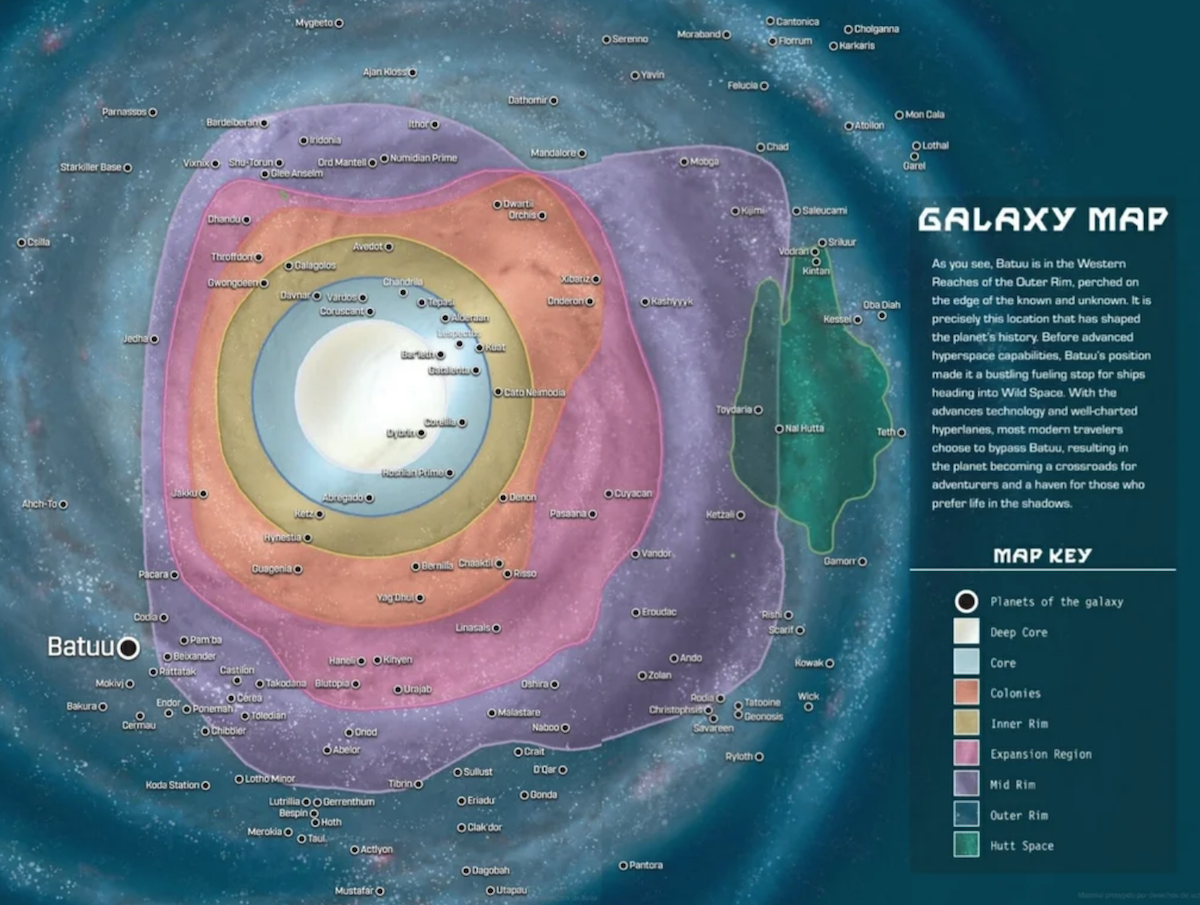 The Map of the Galaxy