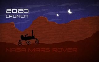 NASA Mars Rover 2020 Illustration