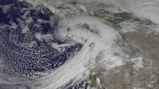 western washington satellite image
