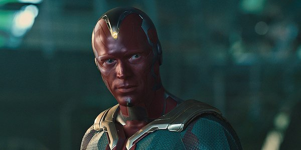 The Vision in Avengers: Age of Ultron