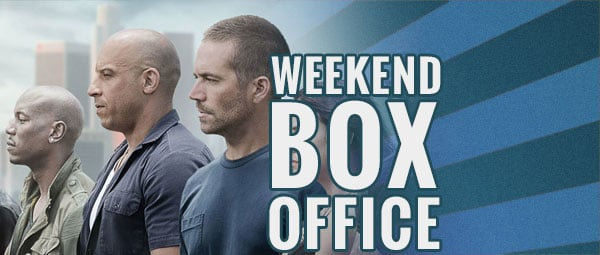 Weekend box office furious leads for a fourth weekend as - Movie box office results this weekend ...