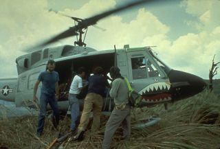 Helicopter, Mount Pinatubo
