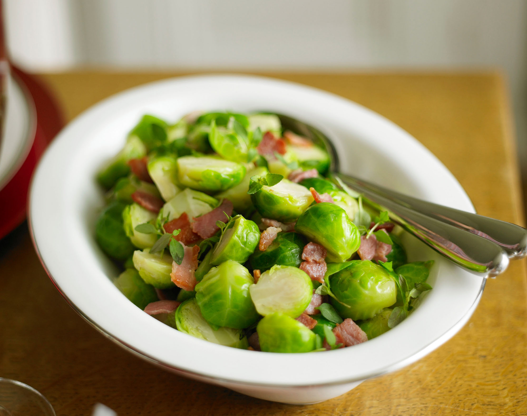 Give your traditional brussel sprouts side dish a makeover with our tasty twist