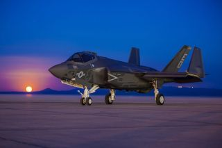 F-35 Fighter Jet at Edwards Air Force Base