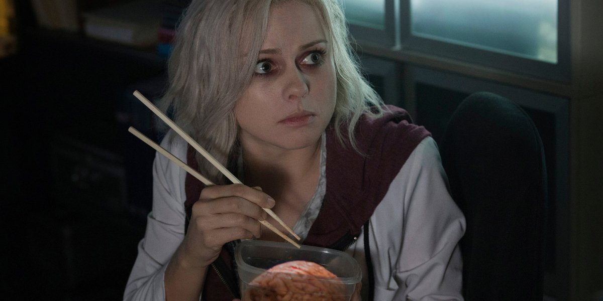 Rose McIver on iZombie