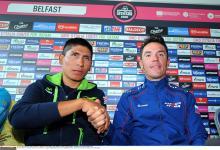 Joaquim Rodriguez and Nairo Quintana