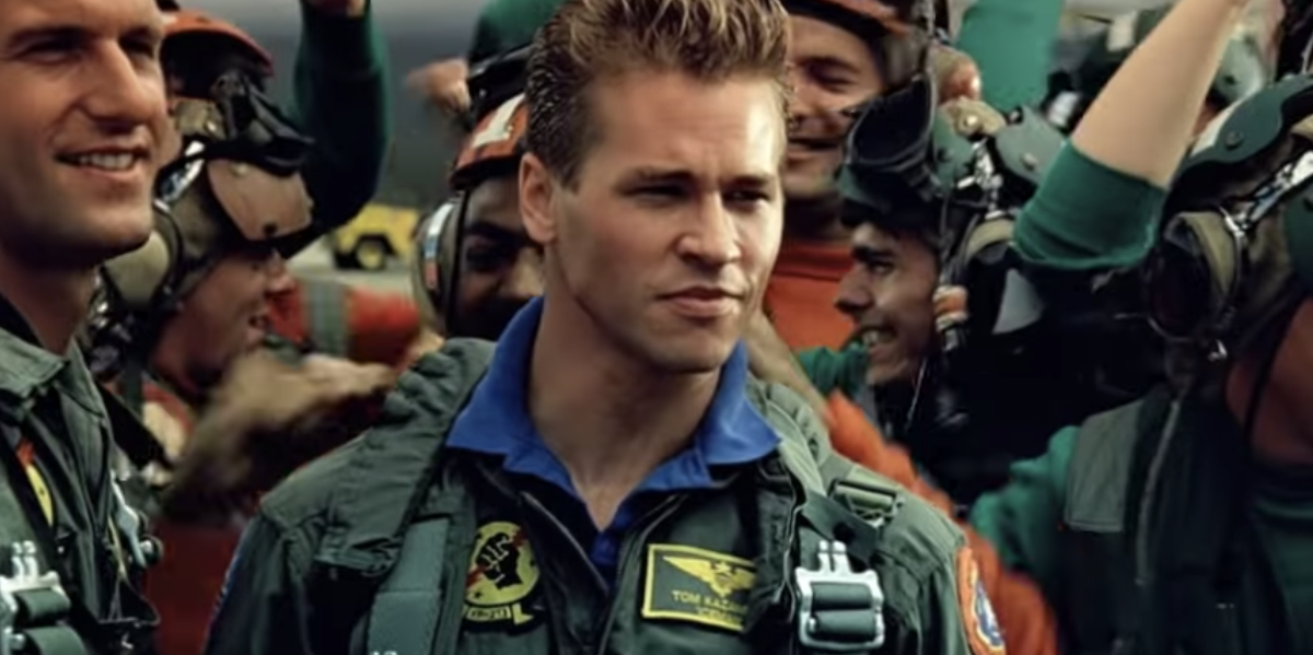 Val Kilmer as Iceman