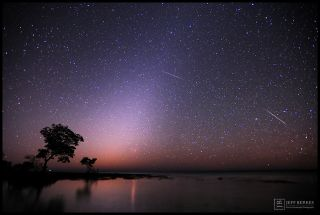 Zodiacal Light and Quadrantids