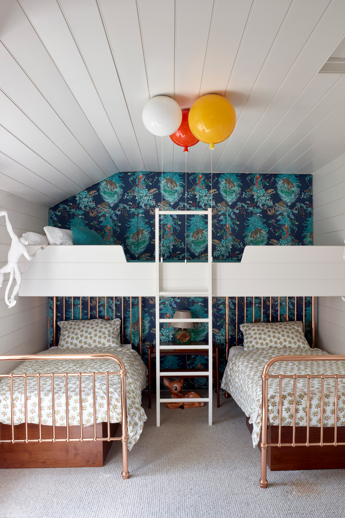 Twin Room, Bunk Bed and Sharing Kids Room Ideas For Kids That Share