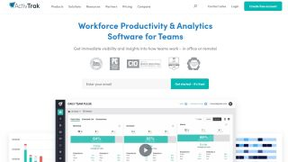 Activtrak employee monitoring software