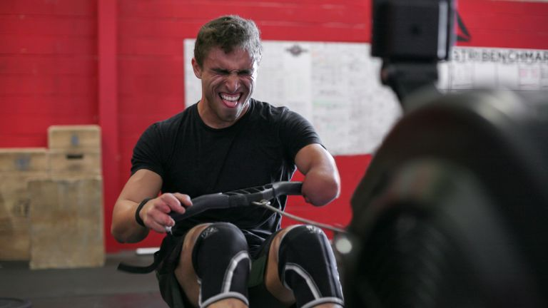 Best exercise machines to lose weight, rowing machine used by amputee athlete