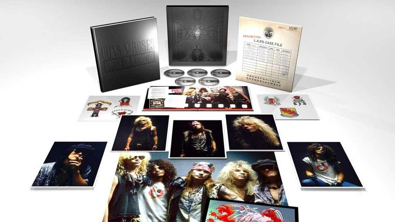 Get 40 Off This Guns N Roses Appetite For Destruction Box Set Louder