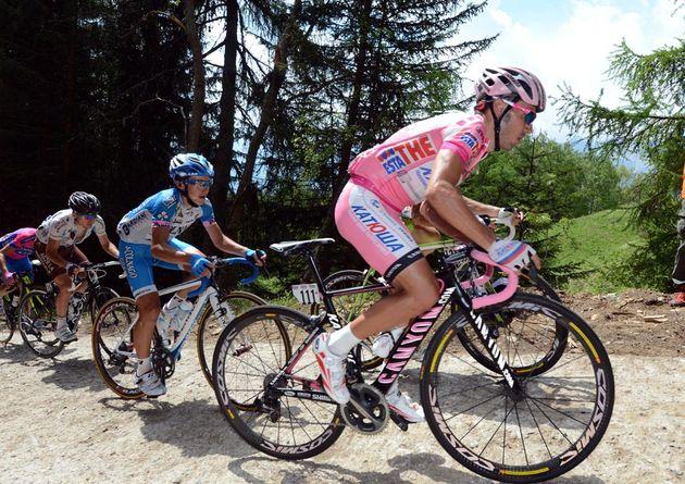 Joaquin Rodriguez on Mortirolo, Giro d'Italia 2012, stage 20