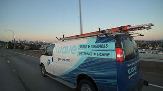Wave Broadband truck
