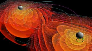 The areas of black holes are tied to the amount of disorder in the universe