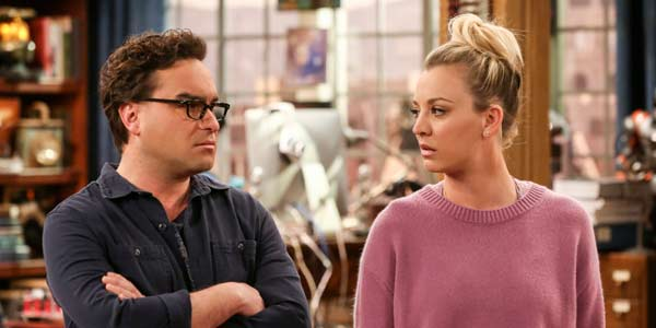 The Big Bang Theory Leonard And Penny Fight Over Kids