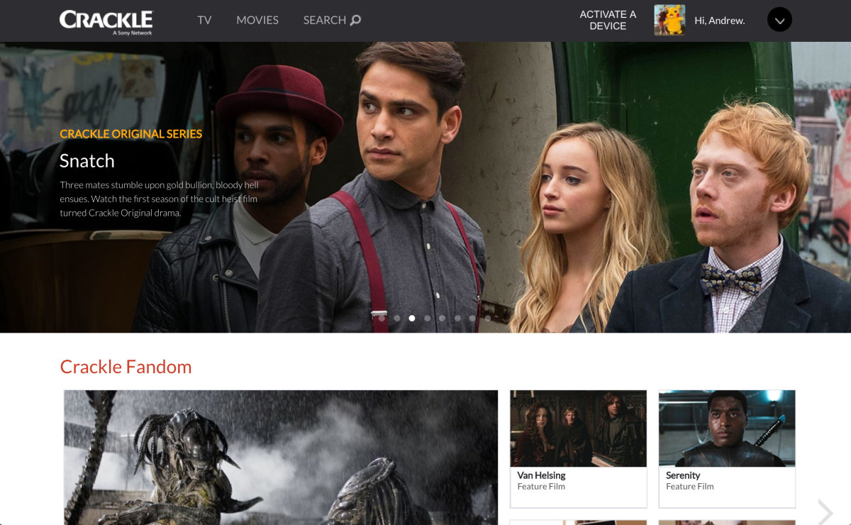 Crackle Everything You Need To Know About Sony S Free Netflix
